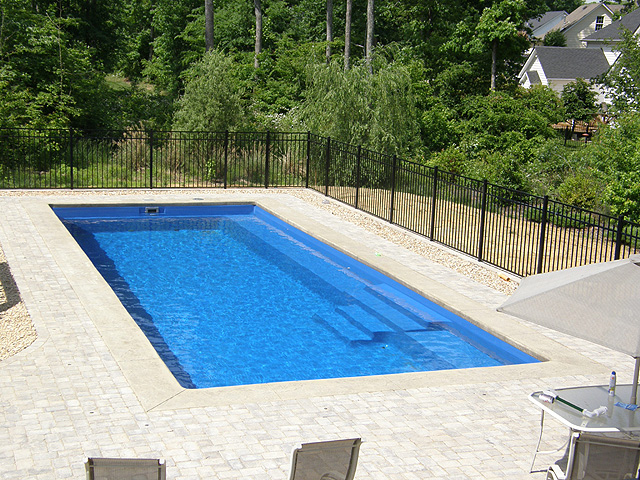 What type of inground pool is best for my backyard jc for Types of inground swimming pools