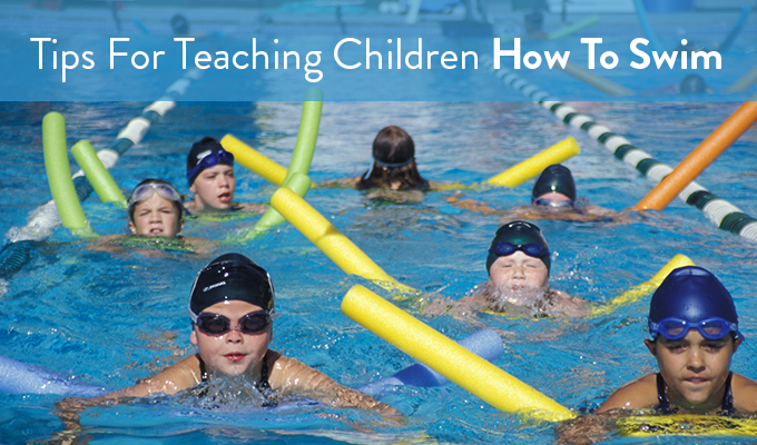Tips For Teaching Children How To Swim Jc Soon Pools