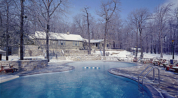 winter pool